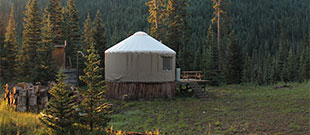 The Pass Creek Yurt